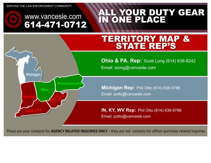 Sales Reps by Territory